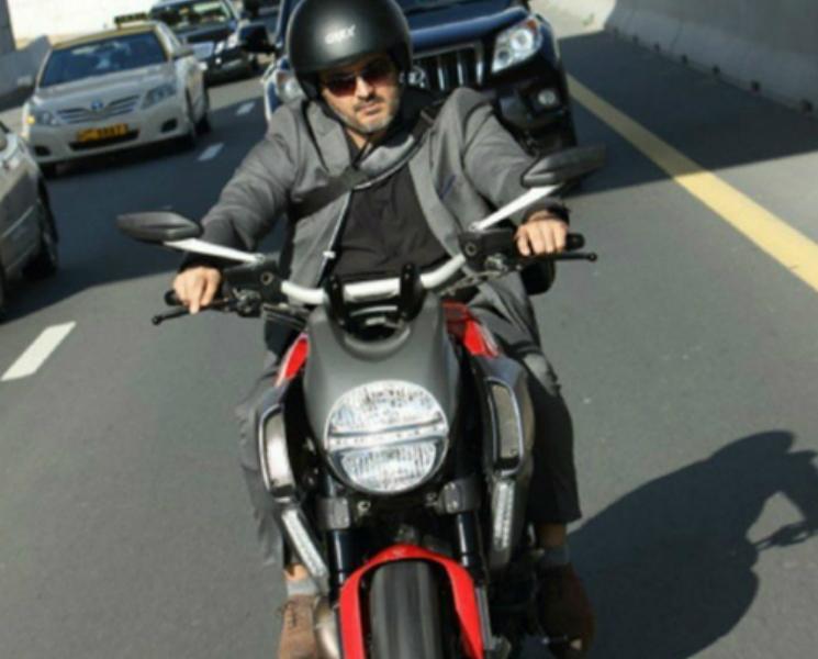 Thala Ajith Injured in Valimai Shooting Bike Chase