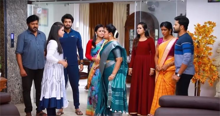 VJ Manigemagalai Cameo in Bharathi Kannama Serial