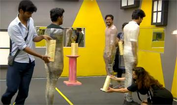 Sandy Rolls Over Mugen Funny Bigboss 3 Promo