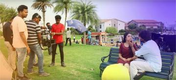 Nani Gang Leader Making Video Karthikeya Anirudh