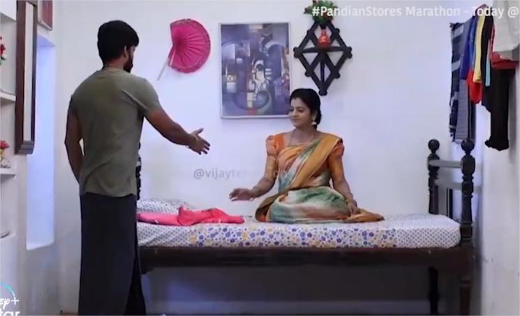 Pandian Stores Kathir Wishes Mullai On Her Bday