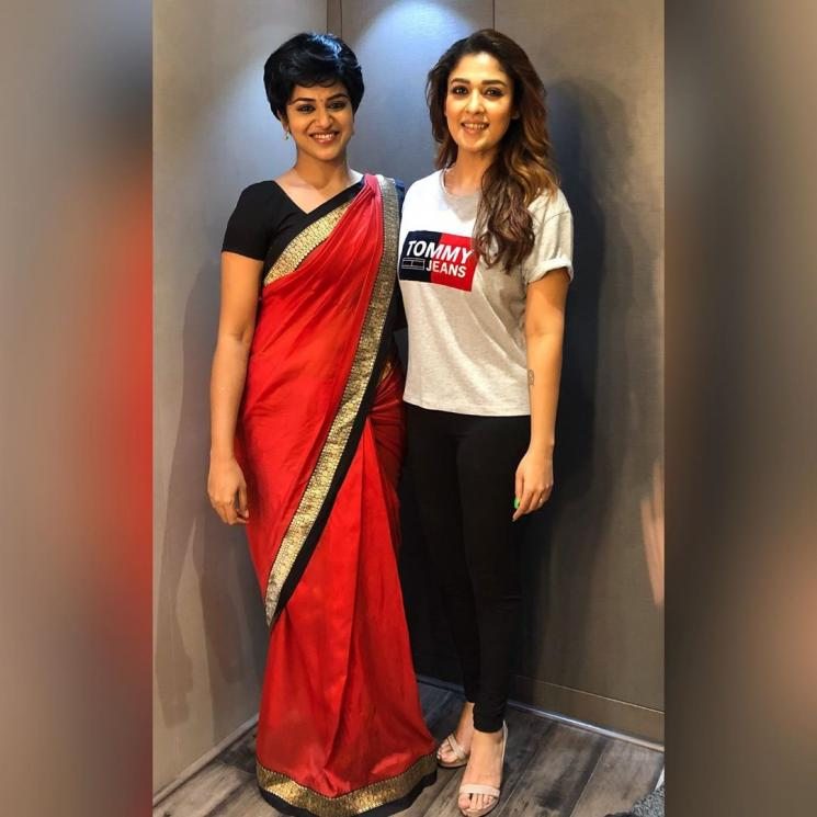Nayanthara Mookuthi Amman Bigil Indhuja Join Cast