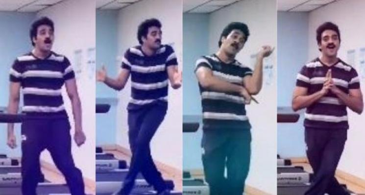 Vaathi Coming Treadmill Dance By Actor Ashwin Kumar
