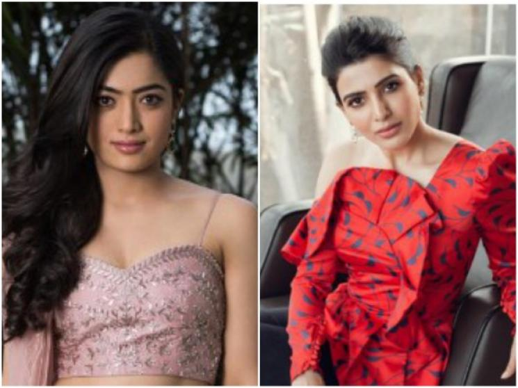 Samantha Applauds Rashmika Dancing Efforts