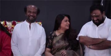 Thalaivar 168 Pooja Video Rajini Meena Keerthy
