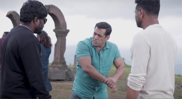 Dabangg 3 Making of Action Scenes Salman Khan