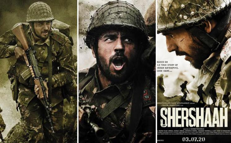 VishnuVardhan Bollywood Debut Shershaah FirstLook