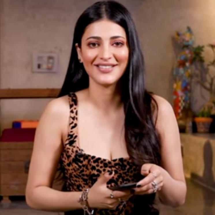 Actress Shruti Haasan Hula Hoop Tutorial Video