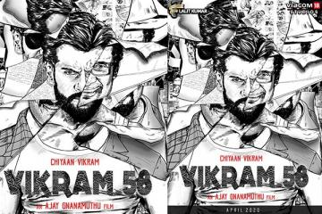Chiyaan Vikram 58 Second Schedule Wrapped