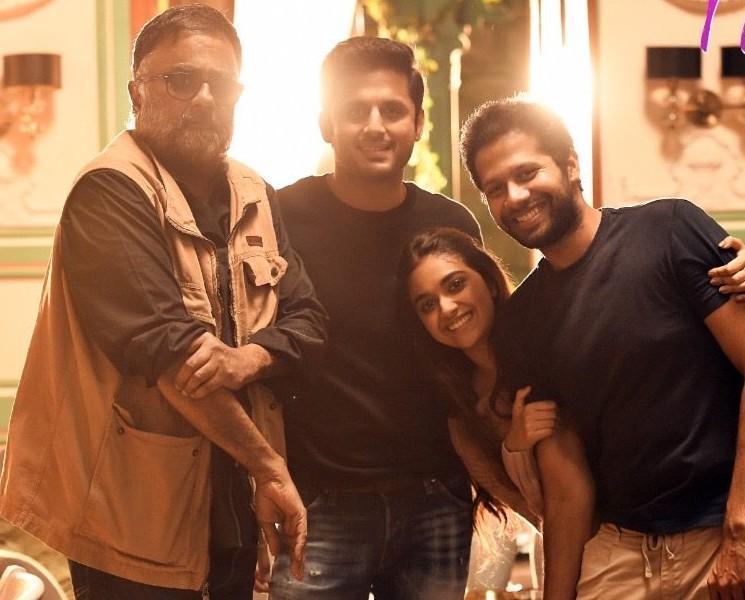 Keerthy Suresh Nithiin Rang De Shooting To Resume By August