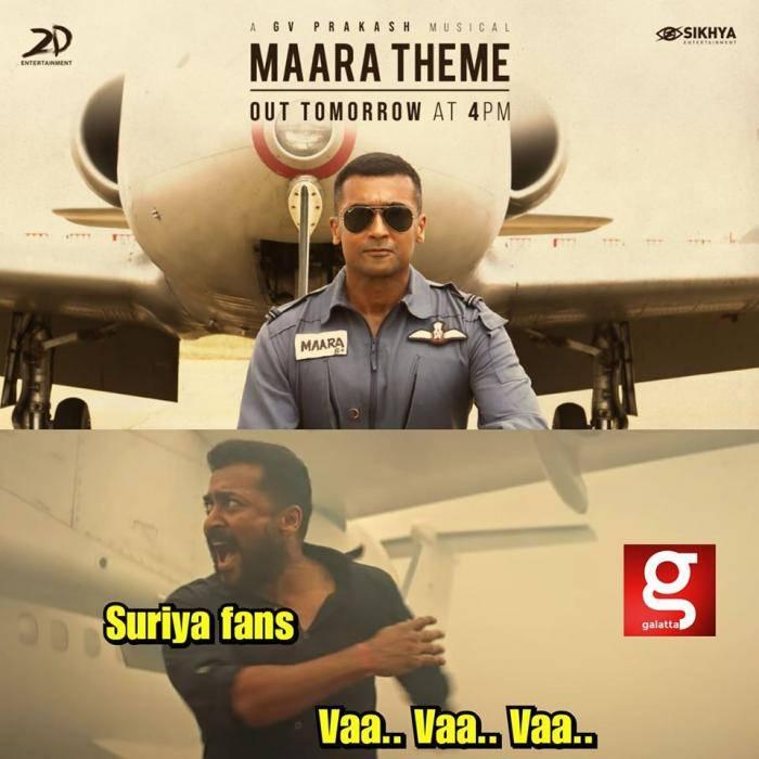 maara theme soorarai pottru - Tamil Memes
