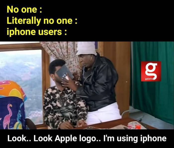 iphone users meme - Tamil Memes