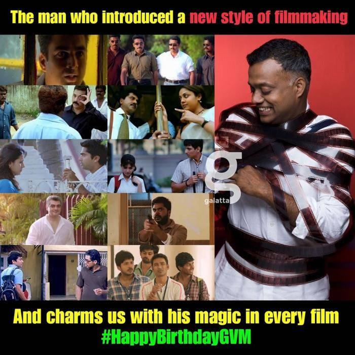 GVM birthday meme - Tamil Memes