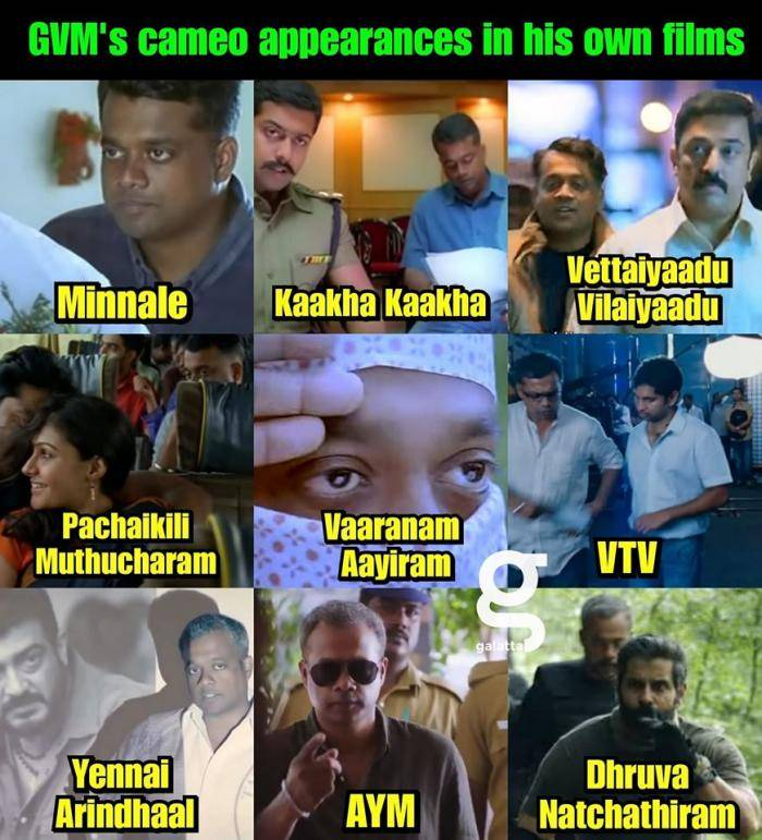GVM cameo appearances  - Tamil Memes