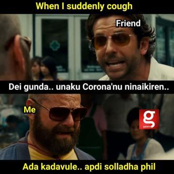 coronavirus hangover - Tamil Memes