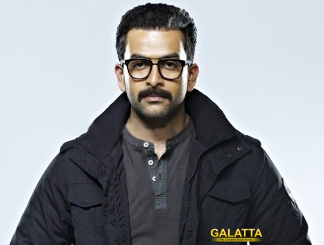 Prithviraj is back to his funny ways!