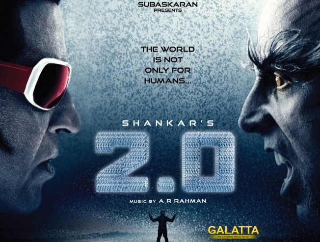 Distinction for Rajinikanth Akshay Kumar 2 Point 0