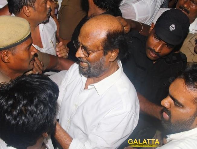 Rajinikanth Pays Last Respect to DMK Chief Dr Kalaignar