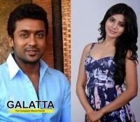 Surya and Samantha shooting in Goa!