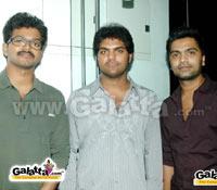 Vijay watches Silambattam with Simbu: Exclusive photos only on Galatta