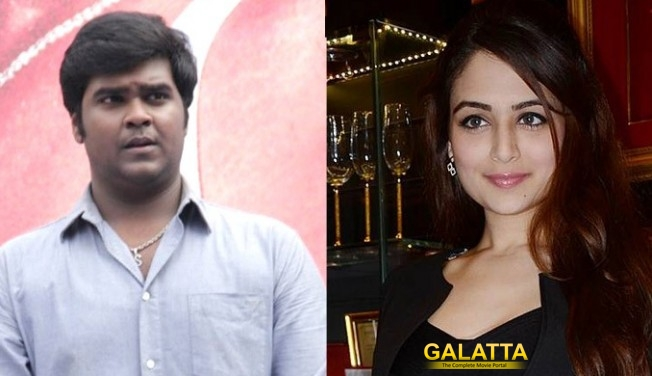 Bollywood babe opposite Vijaykanth's son