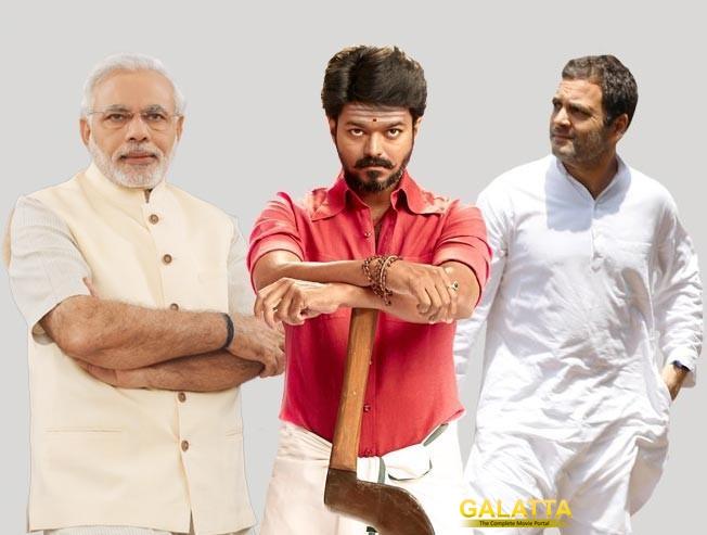 Rahul Gandhi Calls Modi a Demon, Supports Vijay's Mersal