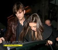 Ashton and Mila's London date!