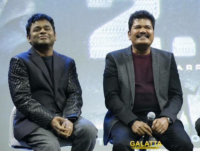 Shankar Is The Right Person For 2point0 AR Rahman Praises