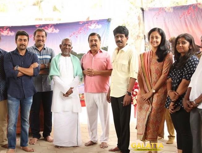 Suriya joins the Naachiyaar team tomorrow