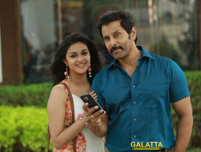 Vikram And Keerthy Suresh To Head To Europe Next For Song Shoot In Saamy Square