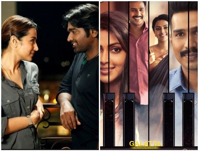 Vijay Sethupathi and Trisha in 96 and Vishnu Vishal and Amala Paul in Ratsasan