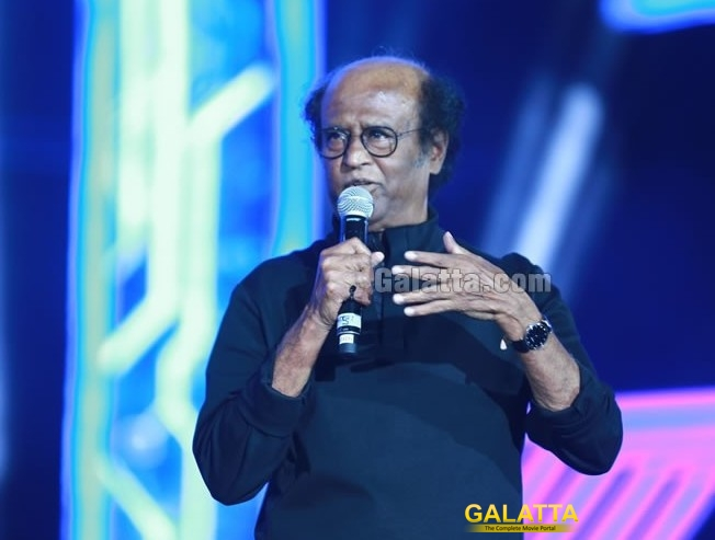 Superstar Rajinikanth Message to the fans in 2 Point 0 Launch