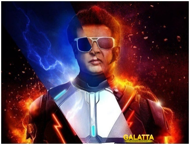 2 Point 0 Rajinikanth Intro Card Shankar Akshay Kumar AR Rahman Lyca Productions