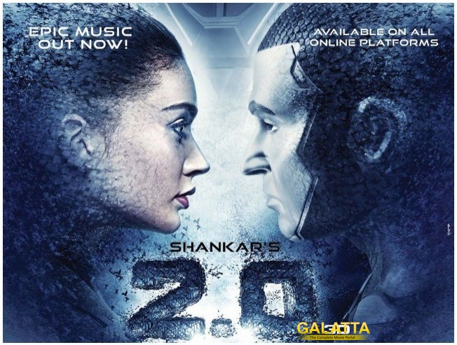 Rajinikanth Shankar Two Point O Audio Update Is Out