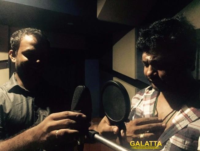 Bobby Simha begins dubbing for Vallavanukkum Vallavan