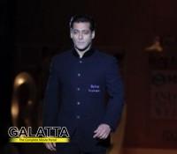 Salman on the ramp