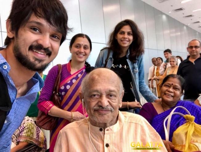 Devayani and nakul father Jaydev Betarpet passed away