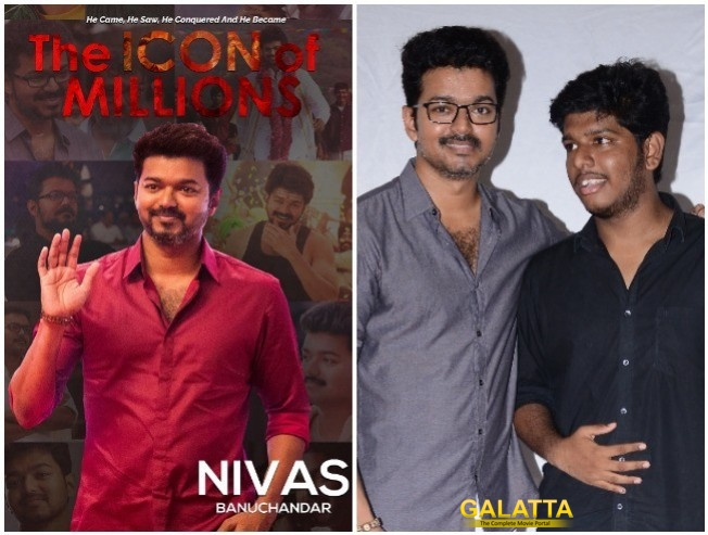 Thalapathy Vijay Book The Icon Of Millions Officially Launched