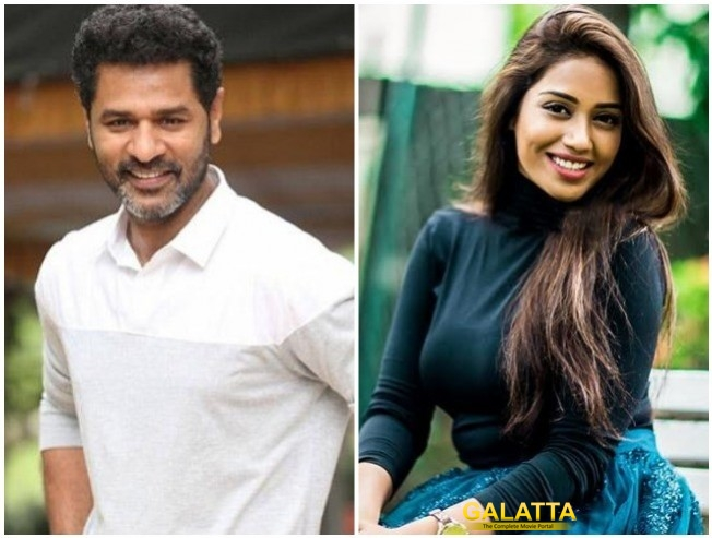 Prabhudeva Nivetha Pethuraj Starrer Prabhdeuva In Khaki Flags Off Production