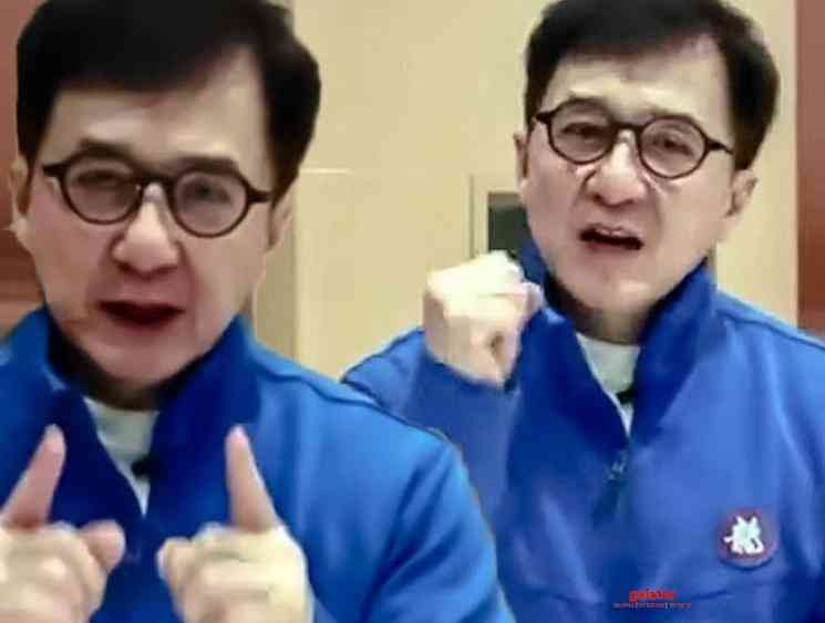 Jackie Chan special video exclusively for his Indian fans - Tamil Movie Cinema News
