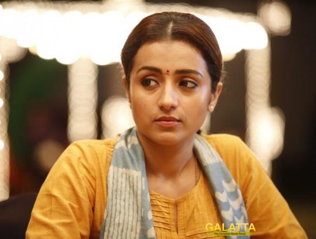 Trisha To Play Homely Girl Role In Rajinikanth Petta