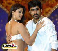 Ravi Teja in and as Dubai Seenu