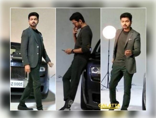 Vijay 62 Test Photo Shoot With Vijay