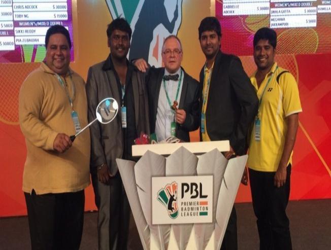Vijayakanth's Son Bags Chennai Smashers