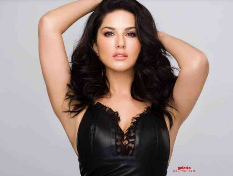 Sunny Leone becomes an artiste during the lockdown - Tamil Movie Cinema News
