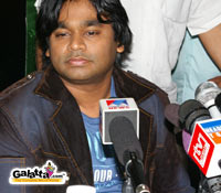 A.R. Rahman on Tamil small screen