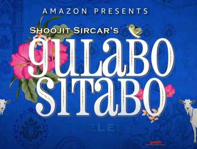 Gulabo Sitabo Motion Logo Amitabh Bachchan - Tamil Movie Cinema News