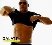 For those who wanted the show : Vin Diesel