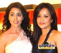 Shriya Saran and Reema Sen at Mocha Mojo in Chennai