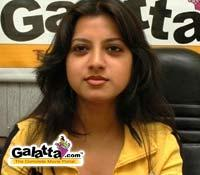 Keerthi Chawla in full gear